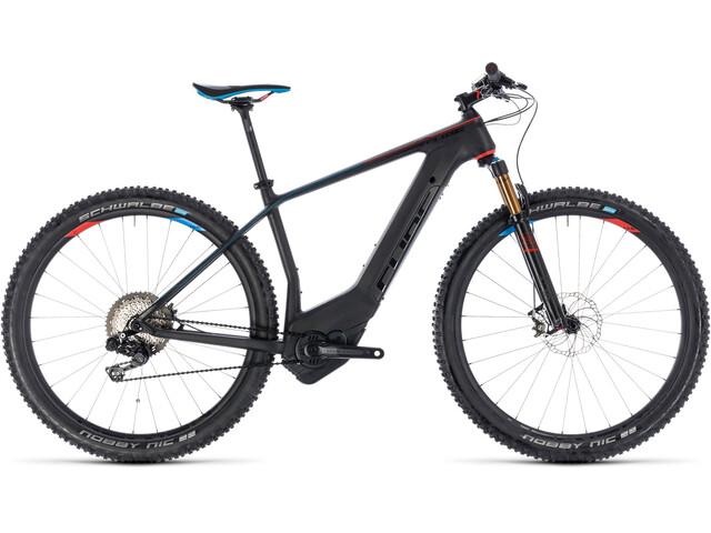 Cube Elite Hybrid C:62 SLT 500 E-mountainbike sort